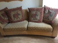Large sofa from M&S with 4 cushion..
