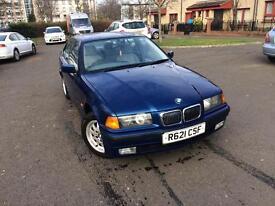 BMW e36 316i manual in blue