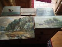 Collection of Antique Paintings