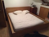 Super King Ikea MALM bed frame - Collect Only