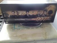 James Bond 007 Widescreen Collectors boxset plus additional films for sale