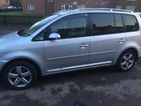 VW TOURAN 1.9TDi sport ..56 reg. Bargain