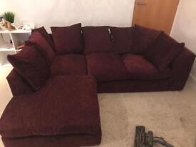 Corner sofa 3 seater good condition