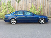 BMW 525D M SPORT + EDITION + 2003 + 4 DR SALOON + ONLY DONE 130K
