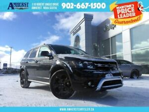 2018 Dodge Journey CROSSROAD, LEATHER, BACKUP CAMERA, HEATED SEA