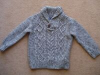 Boys jumper NEXT (5 years, but I would say smaller)