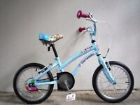 "FREE Bell with (2055) 16"" APOLLO GIRLS CHILD CRUISER-STYLE BIKE BICYCLE Age: 4-6 Height: 102-117 cm"