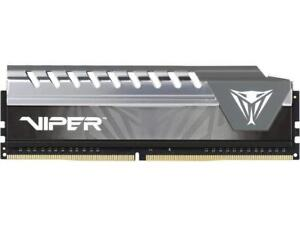 Patriot Memory Viper Elite Series DDR4 16GB 2400MHz (PC4-19200) Single Module (Black/Grey)