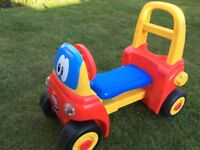 Baby Toddler Little Tikes Walker Ride On My First Cosy Coupe VGC