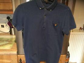 LYLE & SCOTT polo shirt size adults large. BARGAIN PRICE THANKS.