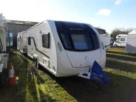 Swift Challenger SE 590 2015 twin axle with lounge at either end