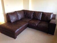 DFS Left Arm Facing Corner Sofa