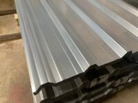 Box profile roof sheets galvanised (3 sizes)