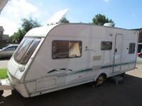 Swift Challenger 5 berth with end shut off bed room ( must sell by this weekend )