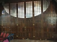 Antique Church Room Dividers