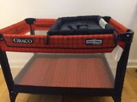 Graco Pack n Play Travel Cot, with changing table