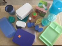 JOB LOT - SELECTION OF TUPPERWARE NEVER USED (OLD PARTY KIT). £50.00 ONO