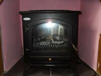 Quickheat Electric - Faux Woodburing Fire
