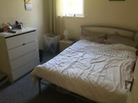 Large double room in two bed flat West Didsbury
