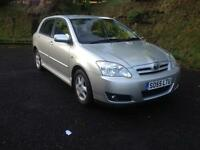 Toyota corolla 1.6 t3 vvti mot 1 year like civic golf focus Astra