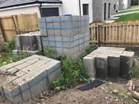 140mm concrete blocks