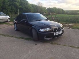 BMW 325i M-Sport, black, petrol automatic - great runner, excellent condition for year