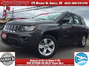 2016 Jeep Compass Sport | 4X4 | MANUAL