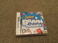 JUNIOR BRAIN TRAINER NINTENDO DS GAME