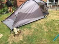 Blacks 3 person tent with aerobed