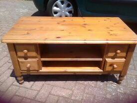 Ducal pine coffee table for 'shabby chic' treatment!