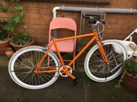 Orange bike (Hackney Club bikes)