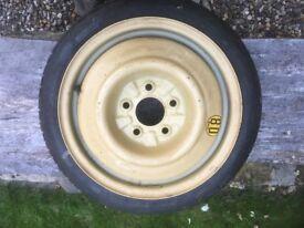 Mazda 6 space saver spare wheel