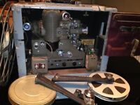 WW2 US Navy 16mm Bell and Howell Utility Projector