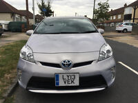 2013 TOYOTA PRIUS AUTO HYBRID ELECTRIC WITH PCO LICENCE,VERY LOW MILES.