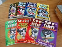 `SPY DOG ` SET OF 8