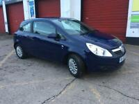 2010 VAUXHALL CORSA 1.0 ECOFLEX 3 DOOR, 44K MILES, FULL MOT, £30 TAX, VERY GOOD CONDITION