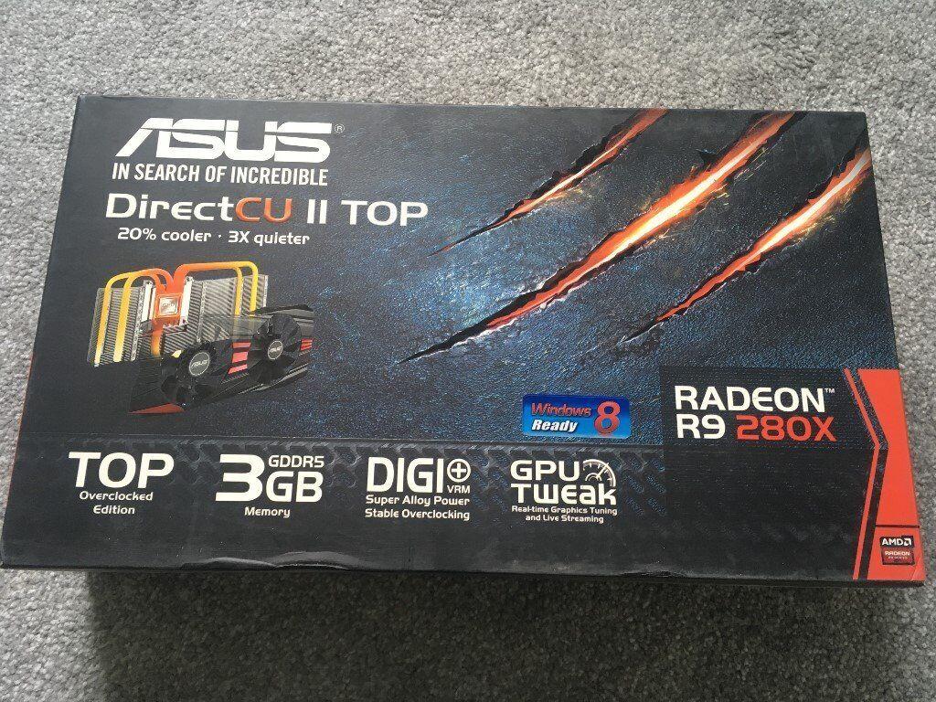 Asus AMD Radeon R9 280X 3GB Graphics Card - Fully Boxed Like New | in  Croydon, London | Gumtree