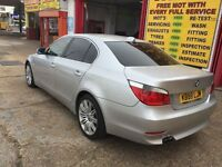2004 BMW 530d SE DIESEL AUTO SILVER 145 000 MILES HPI CLEAR