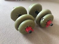 York Dumbbell Weights Set