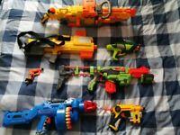 Large NERF gun bundle