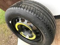 "205 55 16"" VW Golf Spare Wheel, Audi VW Passat Wheel"