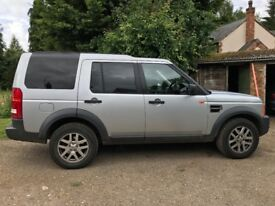 Land Rover Discovery TDV6XS Silver 2720cc Diesel 2007 with tow bar