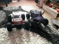 rc nitro monster truck