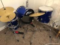 Tiger junior kids drum kit 5 piece with stool
