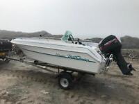 Dell Quay merlin fast fishing boat