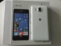 """Nokia lumia 950 White 5.2"""" screen"""