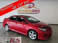 2011 Toyota Corolla WOW - XRS - ONLY 48137 KM