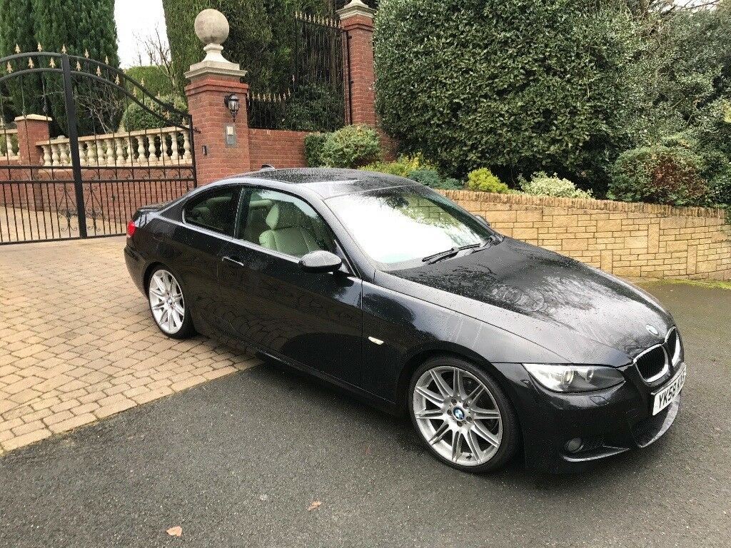 bmw 320d m sport 2008 long mot full history very clean throughout in telford shropshire gumtree. Black Bedroom Furniture Sets. Home Design Ideas
