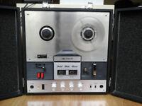 OFFERS Sharp RD-708V Reel to Reel Tape Recorder/Amplifier/Speakers