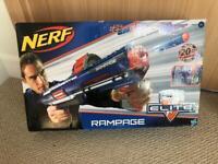 NERF N-strike Elite Rampage Gun as New